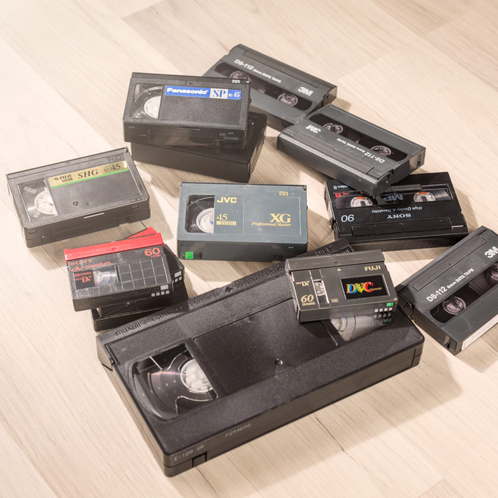 videokassetter